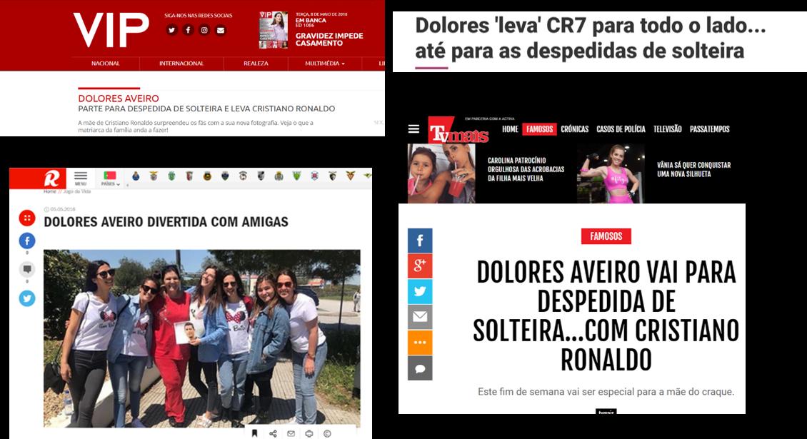 Títulos das notícias em Portugal